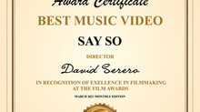 The 2021 Istanbul Film Awards IFA honors David Serero in recognition of excellence in filmmaking