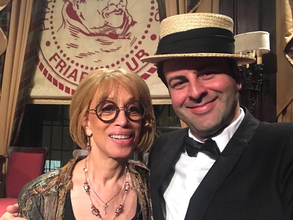 Mercedes Ellington and David Serero