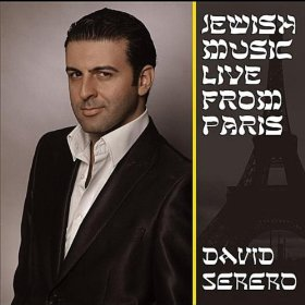 Jewish music live from aprs David Serero cd cover