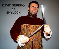 David Serero as Shylock from Merchant of Venice