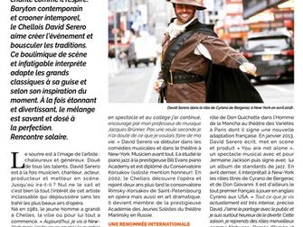 """""""Le SERERO de BERGERAC!"""" - Article Chelles Magazine"""