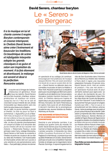 Le Serero de Bergerac - Chelles Magazine - 2019 - David Serero