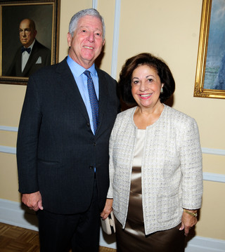 ROYAL COUPLE AND LIFELINE NEW YORK HOST ANNUAL BENEFIT LUNCHEON AT LIEDERKRANZ FOUNDATION