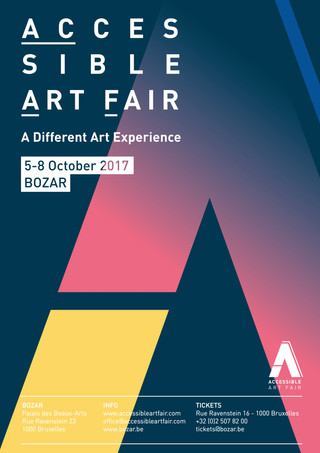 The Accessible Art Fair returns from October 5th to 8th in Brussels