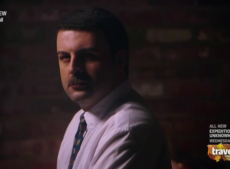 David Serero in US TV Series MYSTERIES AT THE MUSEUM on Travel Channel