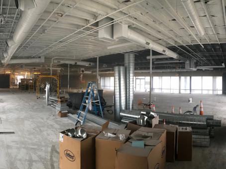 Build-out begins in Dunedin, FL!