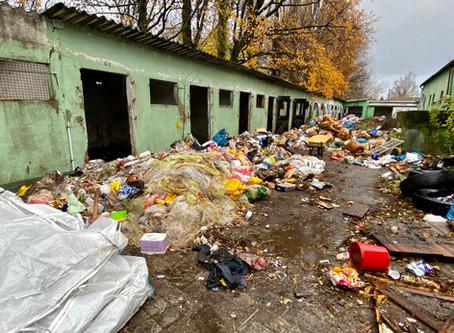 Die Müllberge wachsen weiter...