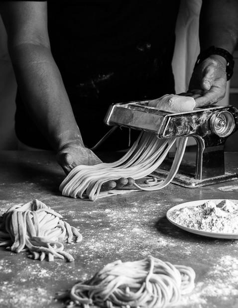 Making of Pasta
