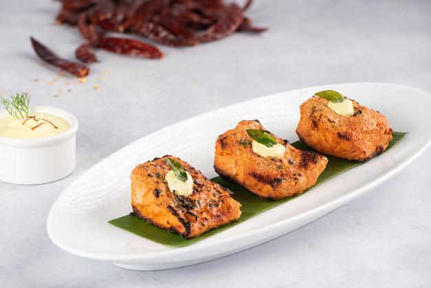 Andhra Salmon Tikka