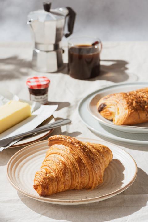 Croissant Still life