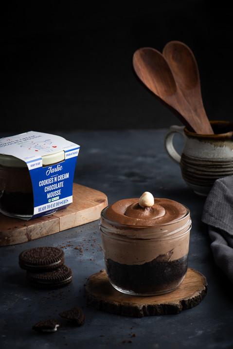 Choco Mousse Jar Cake