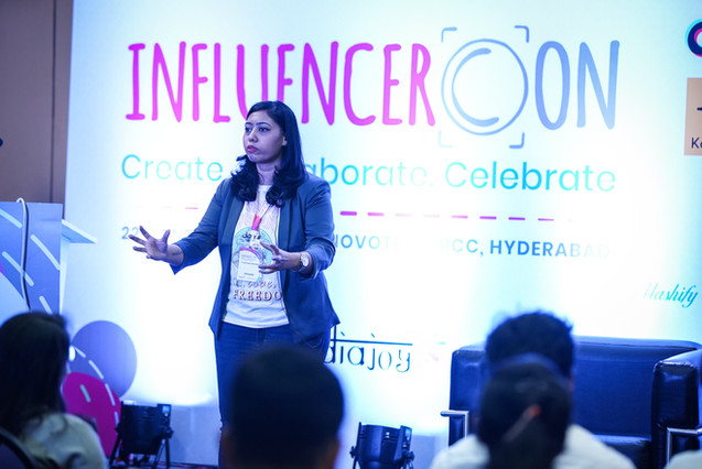 Speaker at InfluencerCon 2019