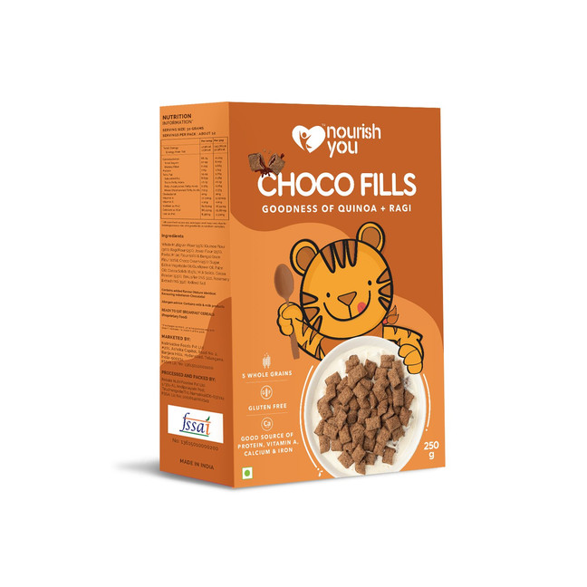 Choco Fills Packaging Campaign for Nourish You