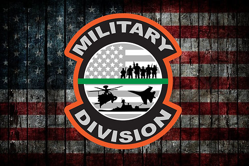 Military Division Patch