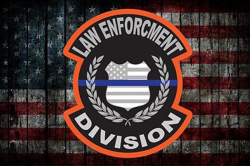 Law Enforcement Division Patch