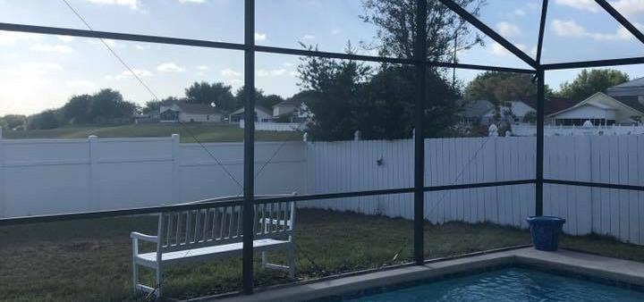 A1 Aluminum pool screen repair