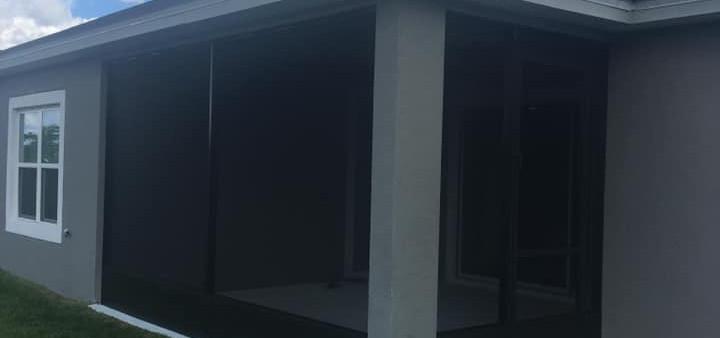 A1 Aluminum Screened Enclosure