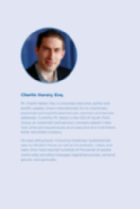 Charlie Harary bio as of 11.2019 of embe