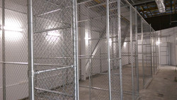 Internal partition / security cages