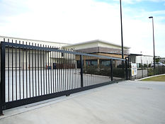 Palisade electric sliding gate Brisbane Gold Coast