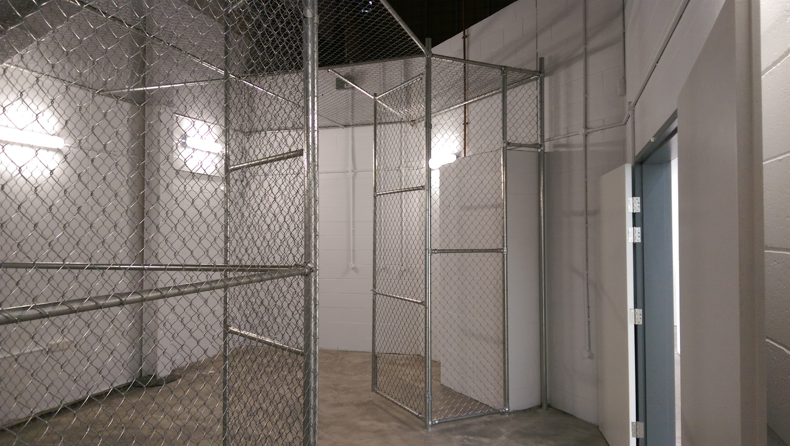 Security cage / Internal partitions