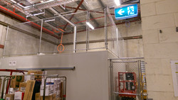 Security cage / internal partition