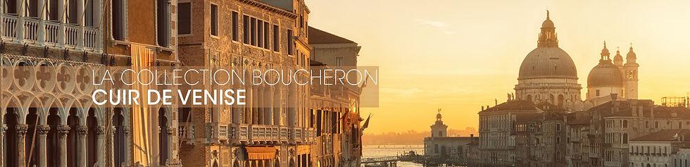 La Collection Boucheron Cuir de Venice