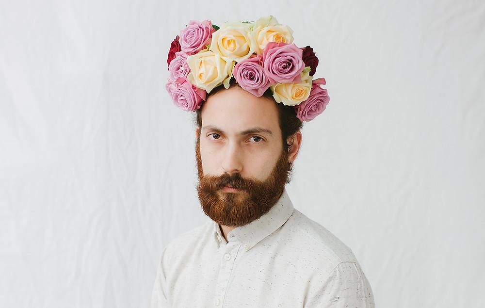פרחים זה גברי מעפילים