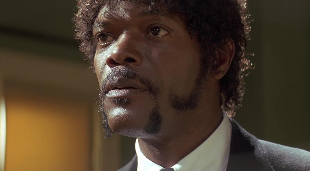 השפם של סמואל ל ג׳קסון
