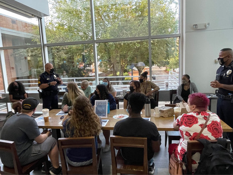 """ODUPD """"Coffee With a Cop"""" Attempts Community Engagement"""