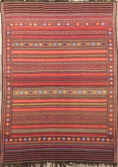 K155 Afghan Kilim 5.6x8.4
