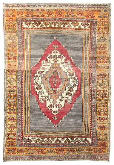 5A0142 Turkish Anatolian 4.11x7.5