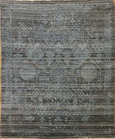 2A0131 Indian Modern Wool&Silk