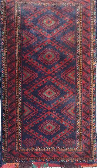 2A0065 Afghan Bag-Pillow