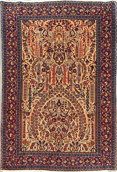 3A0306 Persian Sarouk 3.5x5.3