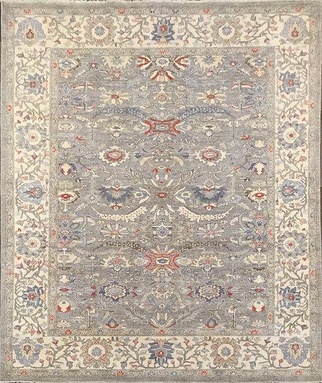 8A329 Afghan Oushak 7.9x9.10