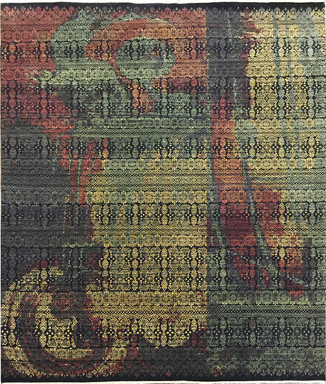 8A337 Indian Modern  8.1x9.10