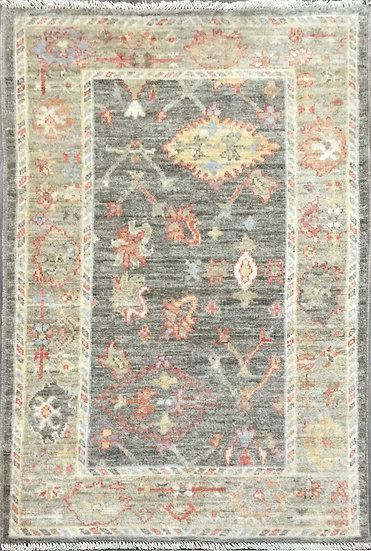 3265 Afghan Oushak 3x4.10