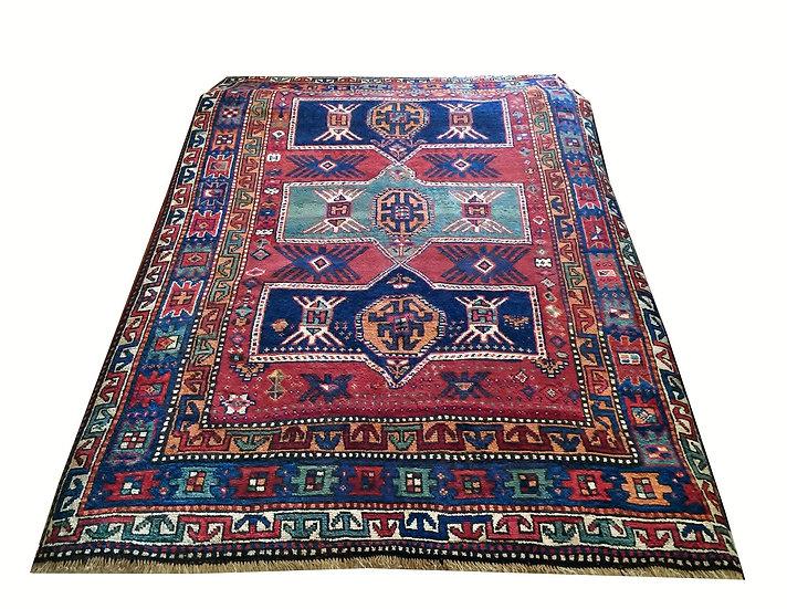 5A0022 Caucasian Kazak 5.4x7.10