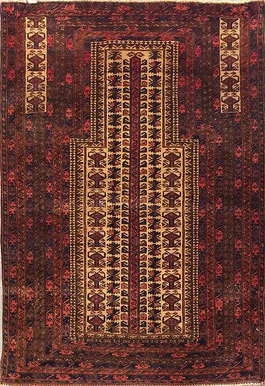 3186 Afghan Baluch 3.3x4.8