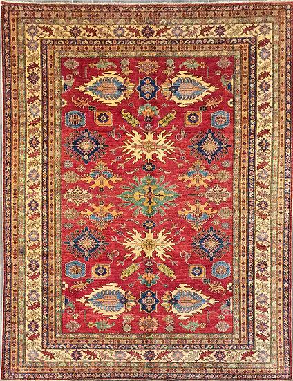 8A287 Afghan Kazak 7.9x10.5