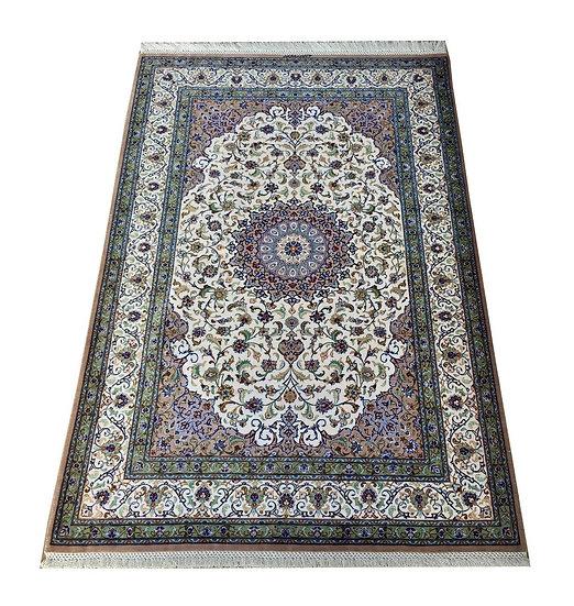 3144 Persian Qom %100 Silk 3.3x4.11