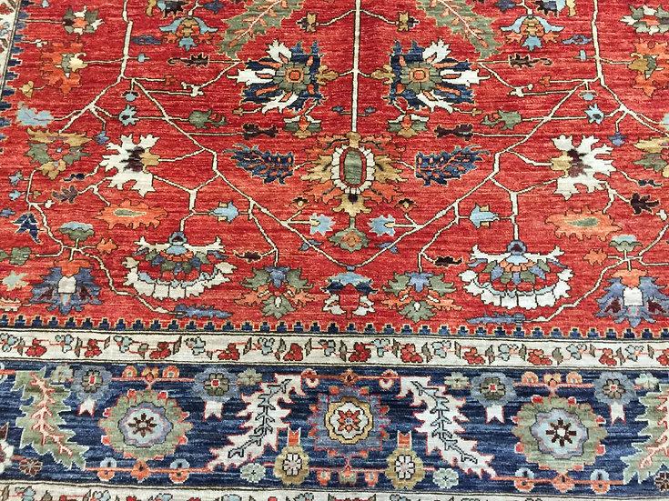 8330 Afghan Serapi 8.2x9.8