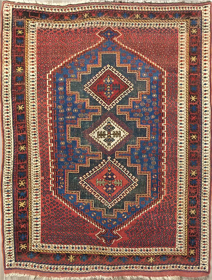 4225 Persian Afshar 4.2x5.9