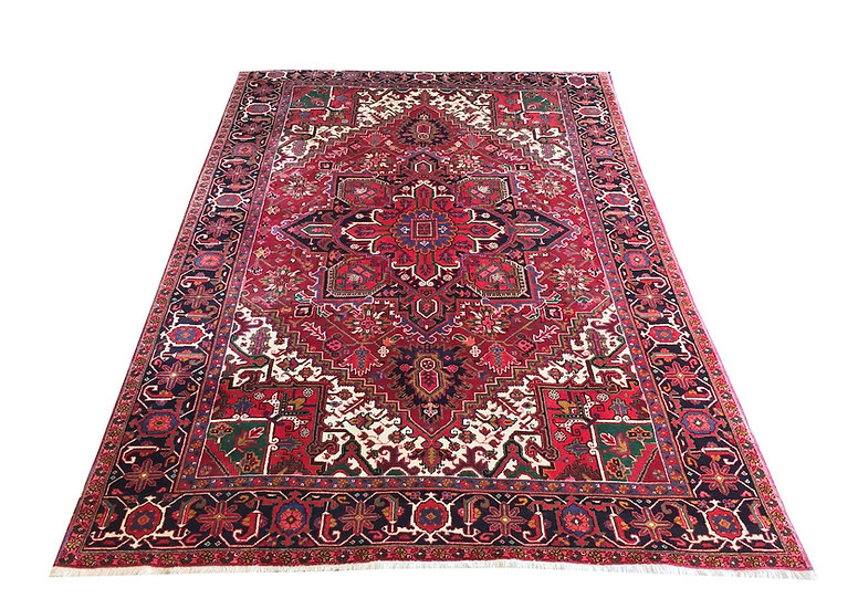 8056 Persian Heriz 7x10