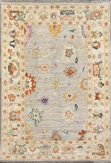4A0135 Afghan Oushak 4x5.10