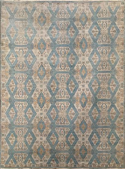 9A0297 Indian Khotan 9x12