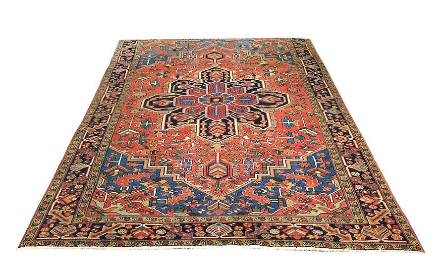 8111 Persian Heriz 6.10x10