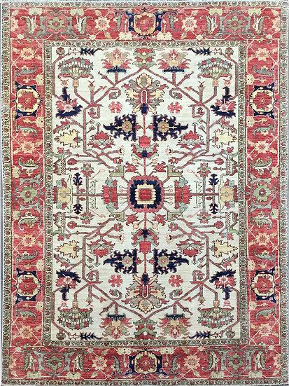 6158 Afghan Serapi 6x9.3