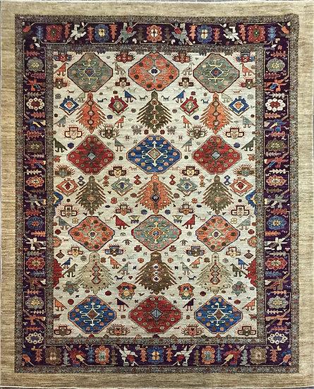 9284 Afghan Sarab 8.9x12